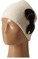 Betsey Johnson Knit Bow Beanie