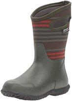 Bogs Durham Varied Stripe Winter Snow Boot (Little Kid/Big Kid)