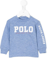Ralph Lauren Polo sweatshirt - kids - Cotton - 3 mth