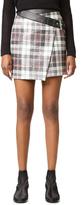 McQ by Alexander McQueen Alexander McQueen Mini Wrap Skirt