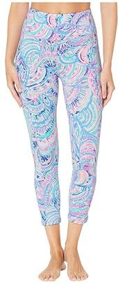 Lilly Pulitzer UPF 50+ High-Rise Weekender Leggings (Multi Happy As A Clam) Women's Casual Pants