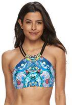 Apt. 9 Women's Printed Halter Bikini Top