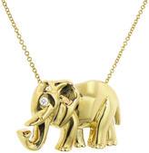 Jennifer Meyer Elephant Necklace - Yellow Gold
