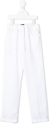 Il Gufo Elasticated Straight Leg Trousers