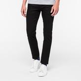 Paul Smith Men's Slim-Fit Black Stretch Jeans