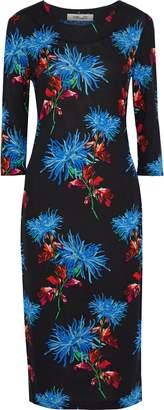 Diane von Furstenberg Saihana Printed Silk-jersey Midi Dress