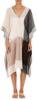 Two Women's Colorblocked Voile Caftan
