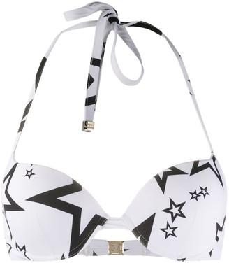 Dolce & Gabbana Star Print Bikini Top