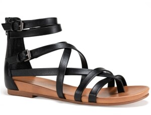 Sun + Stone Charley Gladiator Flat Sandals, Created for Macy's Women's Shoes
