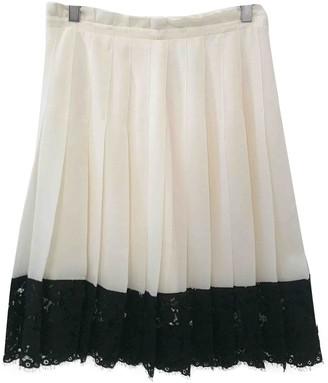 Philosophy di Lorenzo Serafini Ecru Skirt for Women