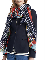 Joules Harmony Floral Scarf, Multi