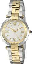 Versace Women's 'REVE' Swiss Quartz Stainless Steel Casual Watch, Color:Gold-Toned (Model: VAI050016)