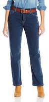 Wrangler Women's As Real As Relaxed-Fit Straight-Leg Jean