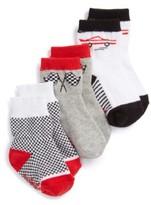 Infant Boy's Robeez Speedy Assorted 3-Pack Socks