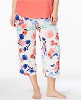 Hue Plus Size Printed Pajama Pants