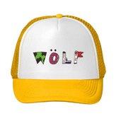 NO 5. Tyler The Creator Wolf Logo Printing Mesh Sun Caps Snapback Hats