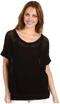 Type Z Sabine Knit Sweater (Black) - Apparel