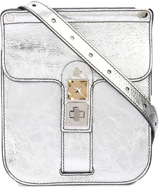Proenza Schouler Metallic PS11 Convertible Box Bag