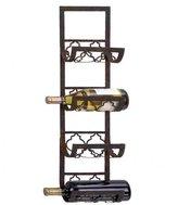 Charlton Home Alderbrook 4 Bottle Wall Mounted Wine Rack