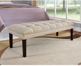 PRI Upholstered Tufted Bedroom Bench