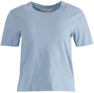 Acne Studios Powder Blue Reverse Label T-shirt