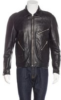 Surface to Air Zip Leather Jacket