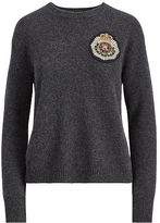 Polo Ralph Lauren Crest Wool-Cashmere Sweater