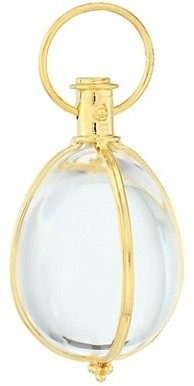 Temple St. Clair 18K Yellow Gold & Crystal Large Amulet