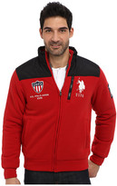 U.S. Polo Assn. Quilted Yoke Full Zip Fleece Zip Up