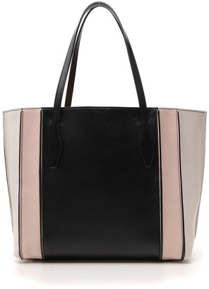 Tod's Panelled Tote Bag