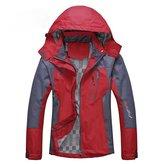 Diamond Candy Sportswear Women's Waterproof Jacket Outdoor raincoat Hooded Softshell 2GM