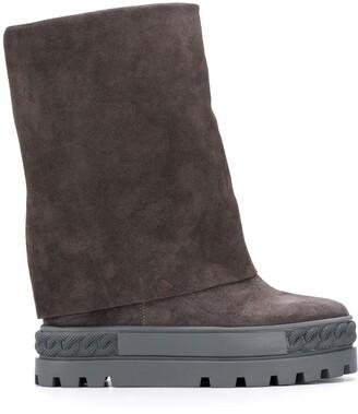 Casadei Renna platform boots