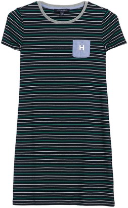 Tommy Hilfiger Moxy Stripe Pocket T-Shirt Dress