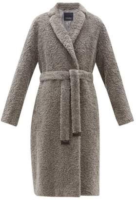 Max Mara S Agiato Coat - Womens - Grey