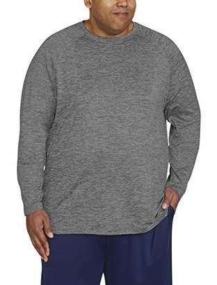 Amazon Essentials Men's Big & Tall Tech Stretch Long-Sleeve T-Shirt fit by DXL