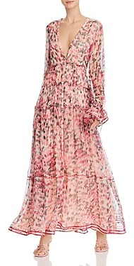Rococo Sand Printed Tiered Dress