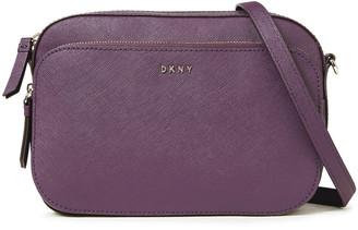 DKNY Faux Textured-leather Shoulder Bag