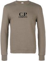 C.P. Company logo sweatshirt - men - Cotton - M