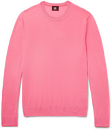 Ps By Paul Smith - Contrast-tipped Merino Wool Sweater