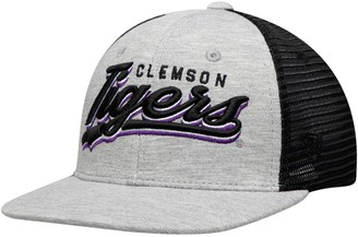 Top of the World Unbranded Youth Gray Clemson Tigers Cutter Adjustable Hat