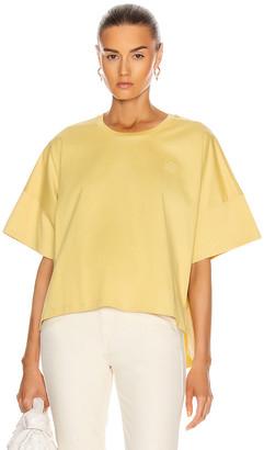 Loewe Short Oversize Anagram T-Shirt in Light Yellow | FWRD