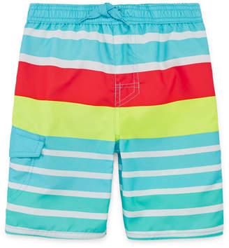 Trunks Okie Dokie Boys Striped Swim Toddler