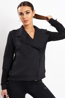 ALALA Black Moto Jacket - M - Black