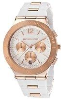 Michael Kors Women's Wyatt MK5935 Silicone Quartz Watch