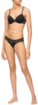 Calvin Klein Perfectly Fit Etched Lace Bikini QF5335