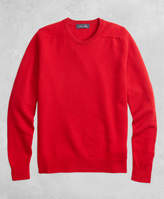 Brooks Brothers Golden Fleece® 3-D Knit Cashmere V-Neck Sweater