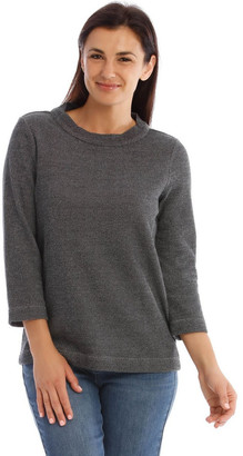 Regatta Textured Funnel Neck Long Sleeve Sweat