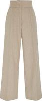 Rachel Comey Traverse Wool-Blend Wide-Leg Pants