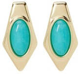House Of Harlow Valda Stone Stud Earrings