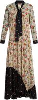 Preen Line Solange floral-print crepe dress